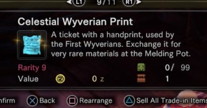 What are Celestial Wyverian Prints?