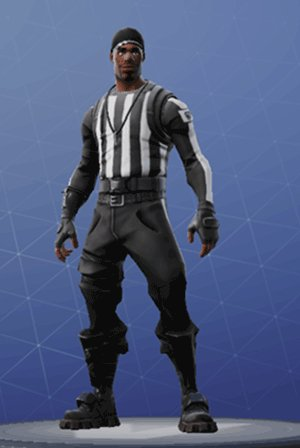 Skin Outfit STRIPED SOLDIER