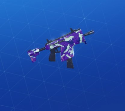 EMOTE CAMO Wrap - Submachine Gun