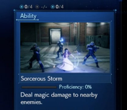 Weapon Abilities