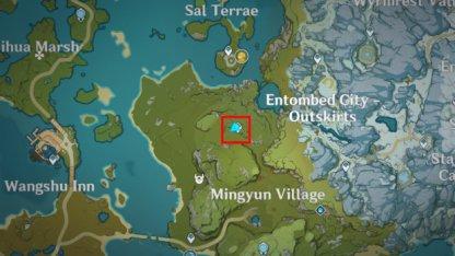Sandbearer Tree Location 3
