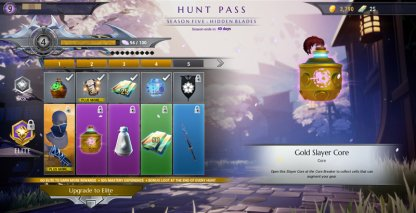 Acquire Rewards From The Hunt Pass