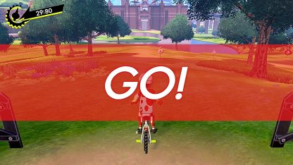Biking Mini-Game In Pokemon Sword And Shield