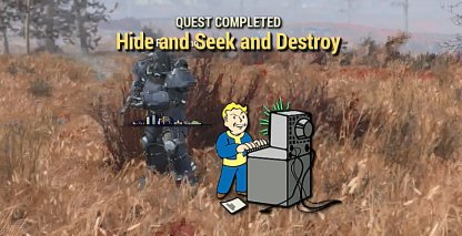 Fallout 76, Hide And Seek And Destroy - Quest Walkthrough