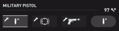 Military Pistol Stats