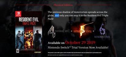 Resident Evil 6 - Release Information