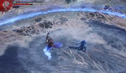 Devil May Cry 5 Vergil Boss Fight Charged Multi-Slash