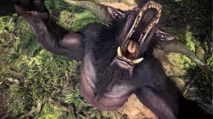 Horned Ape-like Creature
