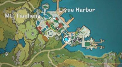 Glaze Lily Map