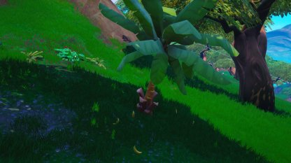 Bananas Spawn under Banana Trees
