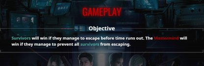 Each Team Has Their Own Victory Objectives