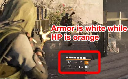 Armor Now Has Its Own HP Bar