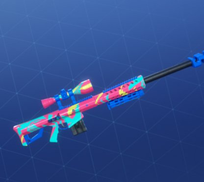 NEON TROPICS Wrap - Sniper Rifle