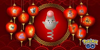 Lunar New Year Event Pokemon Go