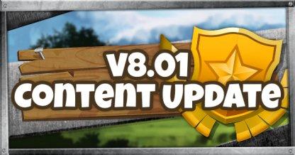 Start a Treasure Hunt in v8.01 Content Update