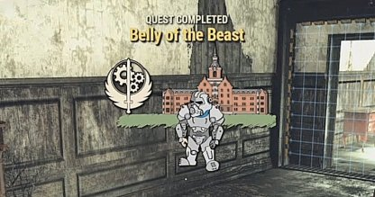 Fallout 76, Belly Of The Beast - Quest Walkthrough
