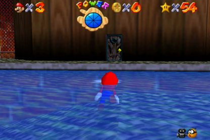 Swim Across To Find Door