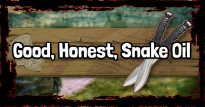 Red Dead Redemption 2 - Good, Honest, Snake Oil