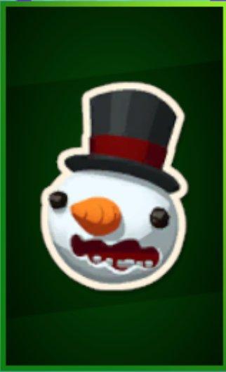 Snowman Emote Icon