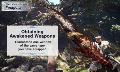 Used Weapon Type Always Included in the Rewards