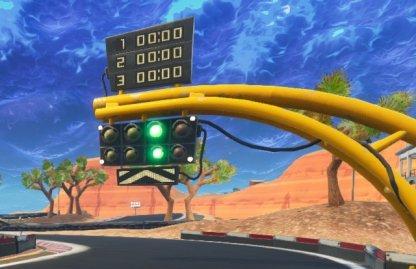 Desert Race Track Challenge