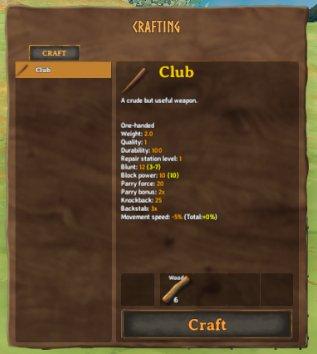 Build Your First Weapon in Valheim
