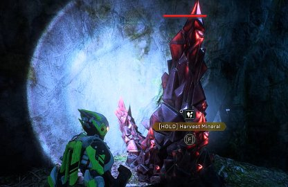 Anthem Interact With Plants, Minerals, & Chests