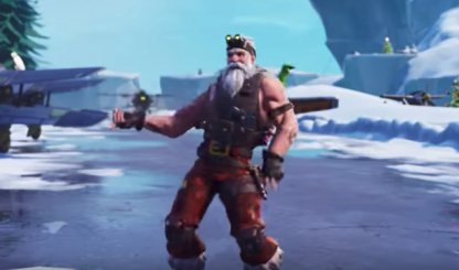 Fortnite, SGT. WINTER - Skin Review: Challenge Leveling & Rewards