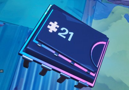 Fortbyte # 21 Location