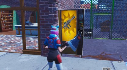 Search a Chest, Use a Vending Machine & a Campfire Challenge