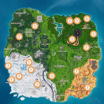 Quadcrasher Locations