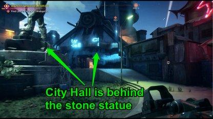 City Hall Location