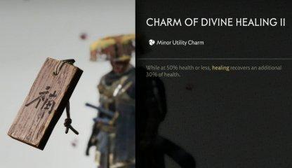 Receive Charm Of Divine Healing II