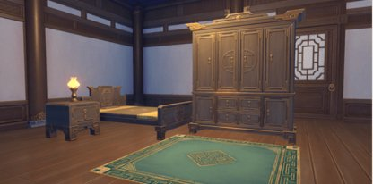 Plain Liyue Bedroom