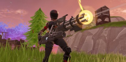 Fortnite Minigun Weapon