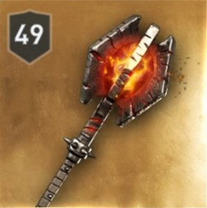 Mallet of Everlasting Flame Stats