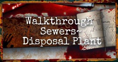 Resident Evil 2 Leon Story Walkthrough Pt.4: Sewers ~ Disposal Plant