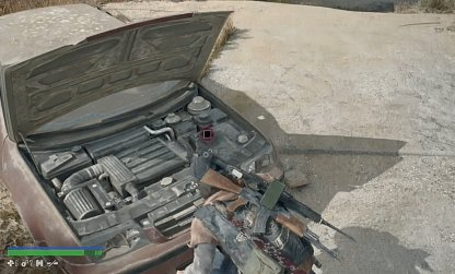Open Car Hoods To Retrieve Scrap
