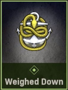 Weighed Down Emblem