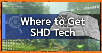 Where to Get SHD Tech - Cache Locations & Guide