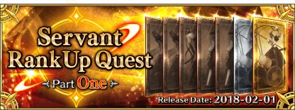 Rank Up Quests Part One banner