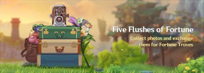 Five Flushes Of Fortune Event