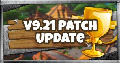 v9.21 Patch Update - June 12, 2019