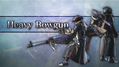 Heavy Bowgun Iceborne Weapon Changes
