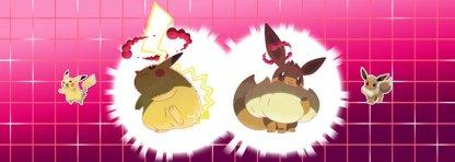 Pikachu Eevee Special Gigantamax