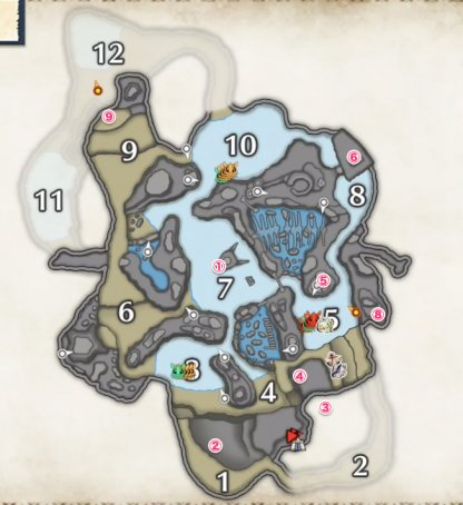 Relic Location - Frost Islands