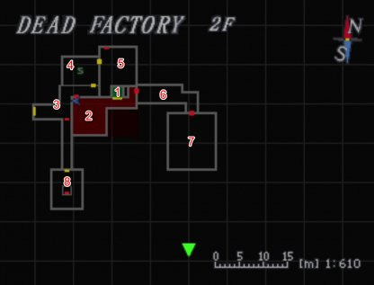Dead Factory 2F Map