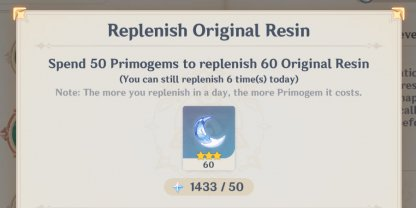 Use To Replenish Original Resin