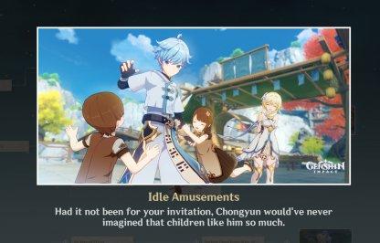 Ending 2: Idle Amusements