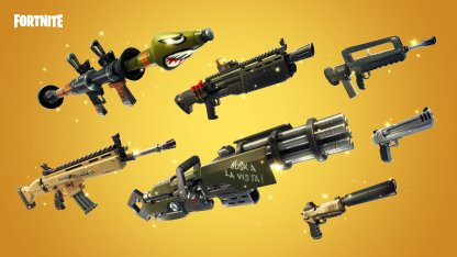 Damage Opponents With Different Weapons - 14 Days of Fortnite
